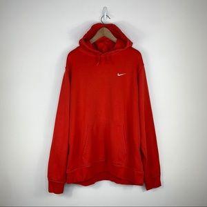 Nike vintage red hoodie Size XXL